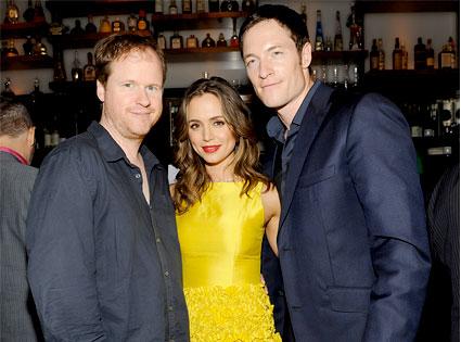 Joss Whedon, Eliza Dushku, Tahmoh Penikett