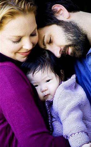Katherine Heigl, Josh Kelley, Naleigh