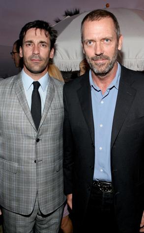 Jon Hamm, Hugh Laurie