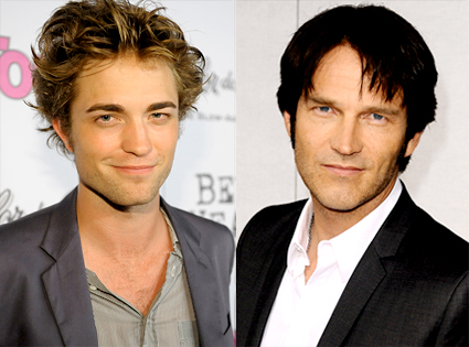 Robert Pattinson, Stephen Moyer