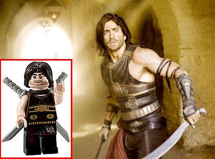 Jake Gyllenhaal, Prince of Persia, Lego