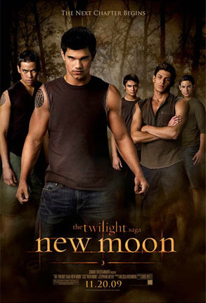 New Moon Poster, Wolf Pack
