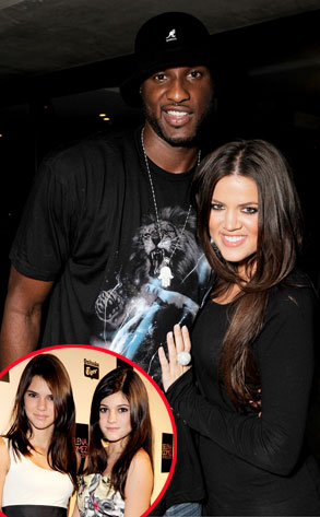 Khloe Kardashian Odom, Lamar Odom, Kendall Jenner, Kylie Jenner