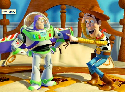 Toy Story, Buzz Lightyear, Woody