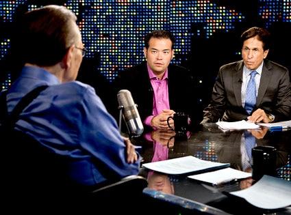 Jon Gosselin, Mark Heller, Larry King, Larry King Live