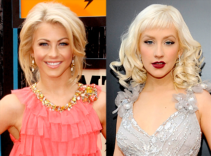 Julianne Hough, Christina Aguilera