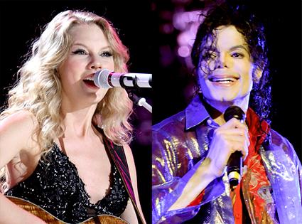 Taylor Swift, Michael Jackson