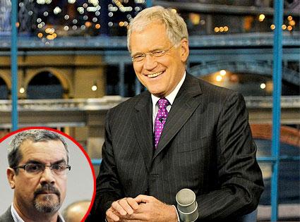 David Letterman, Robert Halderman