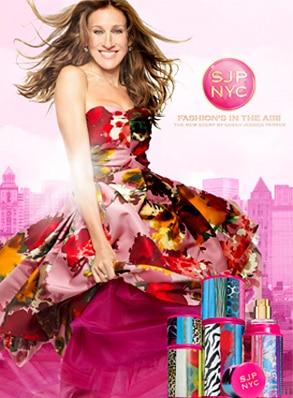 Sarah Jessica Parker, Fragrance, SJP NYC, Ad
