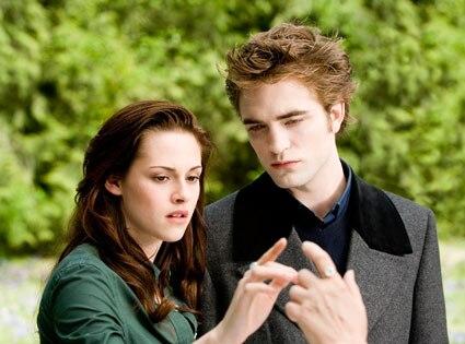New Moon, Robert Pattinson, Kristen Stewart