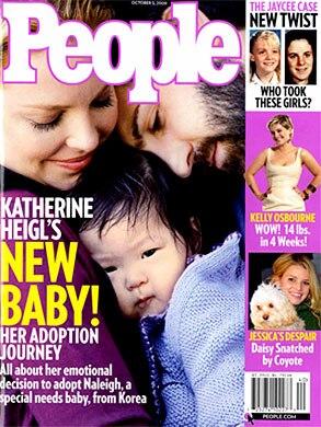 Katherine Heigl, People Magazine, Cover