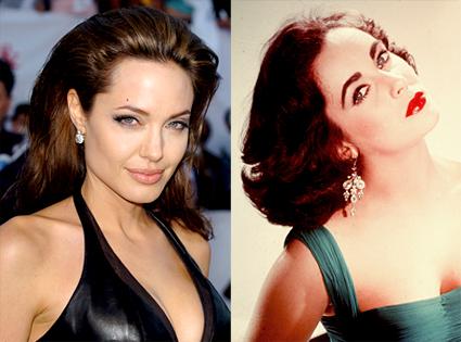 Angelina Jolie, Elizabeth Taylor