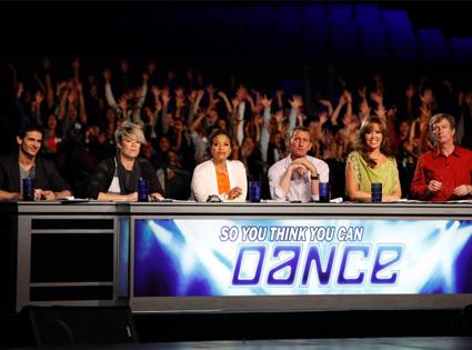 SO YOU THINK YOU CAN DANCE, Tyce Diorio, Mia Michaels, Debbie Allen, Adam Shankman, Mary Murphy, Nigel Lythgoe