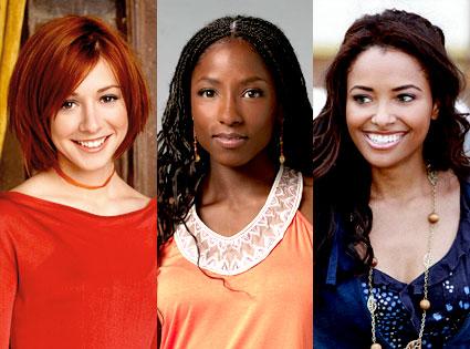 Buffy the Vampire Slayer, Alyson Hannigan, True Blood, Rutina Wesley, Vampire Diaries, Katerina Graham