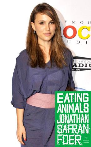 Natalie Portman, Eating Animals, Book Cover