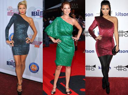Paris Hilton, Katerine Heigl, Kim Kardashian
