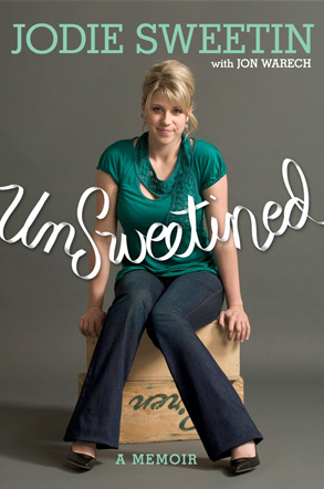 Jodie Sweetin, Unsweetined, Book Cover