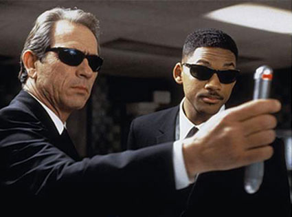 Men In Black, Tommy Lee Jones, Will Smith