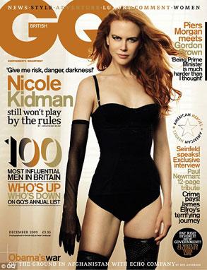 Nicole Kidamn, British GQ