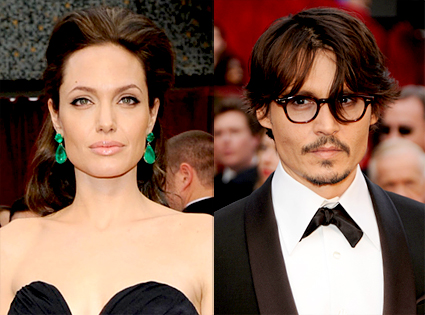 Angelina Jolie, Johnny Depp