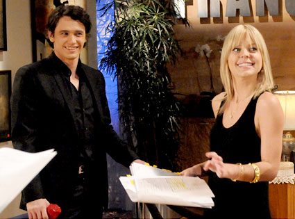 James Franco, Kirsten Storms, General Hospital