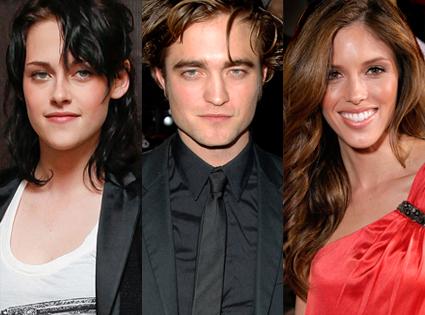 Kristen Stewart, Robert Pattinson, Kayla Ewell