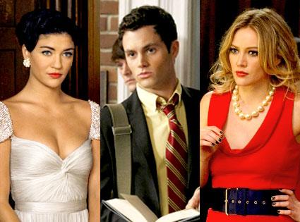 Gossip Girl, Jessica Szohr, Penn Badgley, Hilary Duff