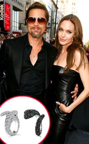 Brad Pitt, Angelina Jolie, Asprey Jewlery