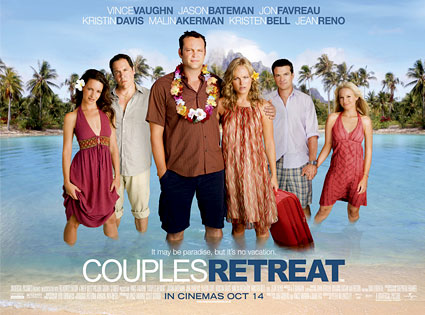 Vince Vaughn Barefoot >> Couples Retreat Postergate Are Brits Racist E News