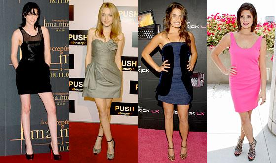Kristen Stewart, Dakota Fanning, Nikki Reed, Ashley Greene