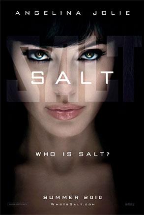 Angelina Jolie, Salt, Poster