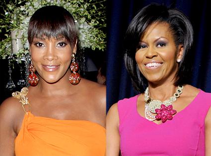 Vivica A. Fox, Michelle Obama