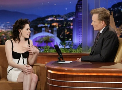 Kristen Stewart, The Tonight Show, Conan O'Brien