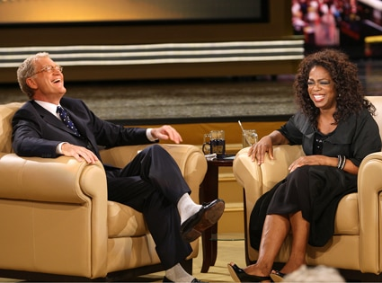 David Letterman, Oprah Winfrey
