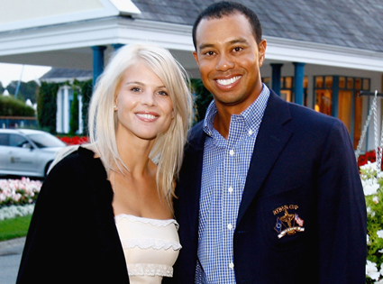 Elin Woods, Tiger Woods