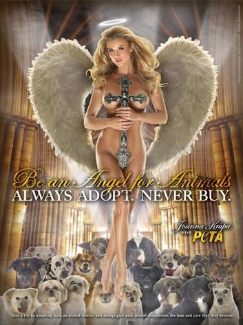 Joanna Krupa, PETA Ad