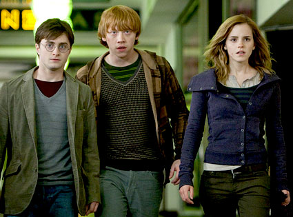 Daniel Radcliffe, Rupert Grint, Emma Watson, Harry Potter and the Deathly Hallows