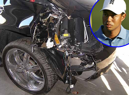 Tiger Woods, Car Accident