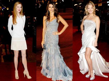 Nicole Kidman, Penelope Cruz, Kate Hudson