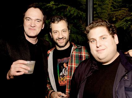 Quentin Tarantino, Judd Apatow, Jonah Hill