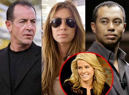 Michael Lohan, Rachel Uchitel, Tiger Woods, Chelsea Handler