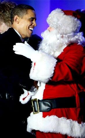 Barack Obama, Santa Claus