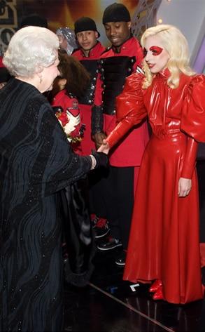Queen Elizabeth, Lady Gaga