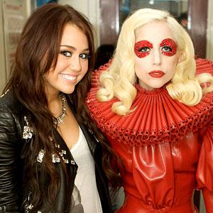 Miley Cyrus, Lady Gaga