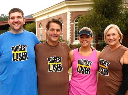 The Biggest Loser, Rudy, Danny, Amanda, Liz