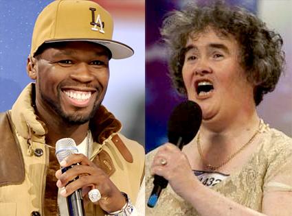 50 Cent, Susan Boyle