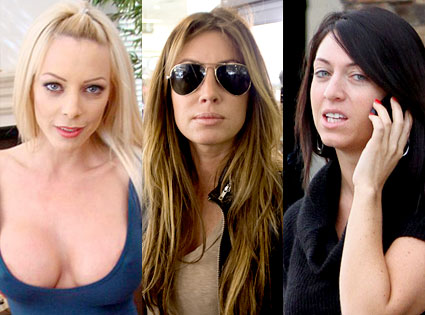 Ashley Sampson, Rachel Uchitel, Kalika Moquin