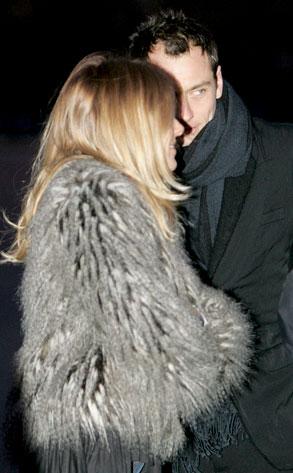 Sienna Miller, Jude Law