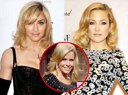 Madonna, Kate Hudson, Chelsea Handler