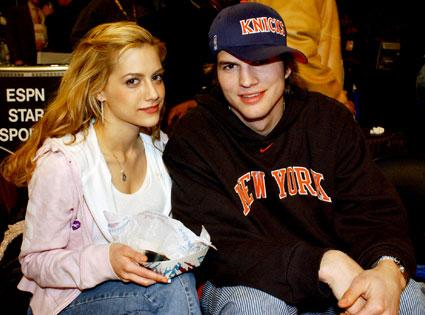 Ashton Kutcher, Brittany Murphy